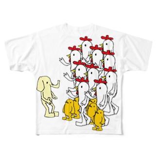 ちょっと、あの・・・ Full graphic T-shirts