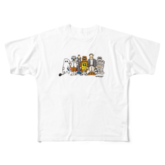 ZOMBIELAND Full graphic T-shirts