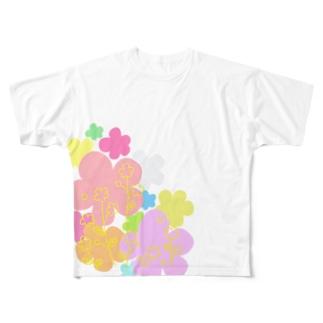 ふらわーず Full graphic T-shirts