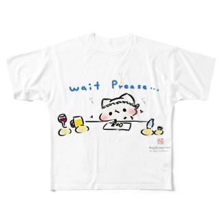 ましまろうcooking(まし屋) Full graphic T-shirts
