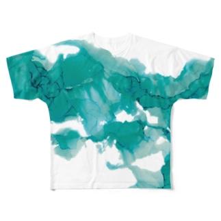みどり Full graphic T-shirts