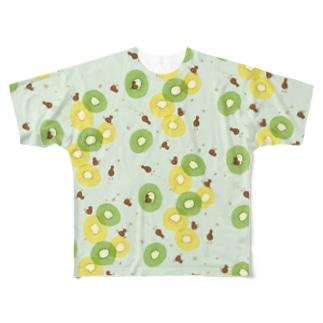 kiwi Full graphic T-shirts