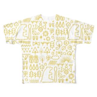はちみつ Full graphic T-shirts
