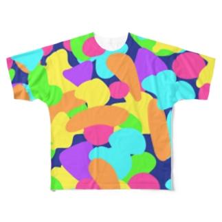 あたまのなか Full graphic T-shirts