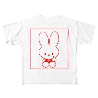 FXXKちゃん Full graphic T-shirts