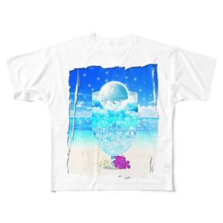 Moon Soda Full graphic T-shirts