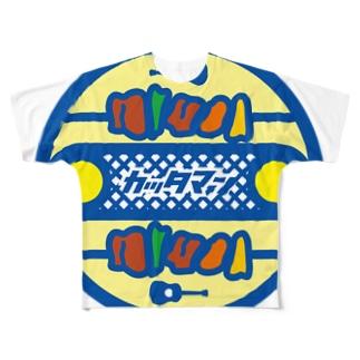 パ紋No.2733 カッタマン Full graphic T-shirts