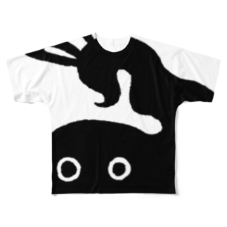 ヨコイカワ Full graphic T-shirts