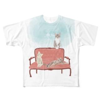 たかみやはなまるN2 Full graphic T-shirts