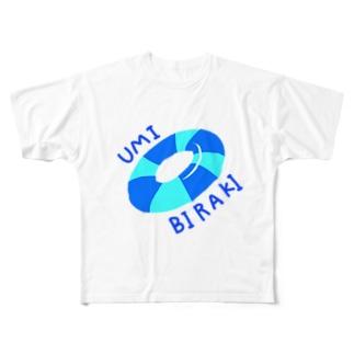 海開き Full graphic T-shirts