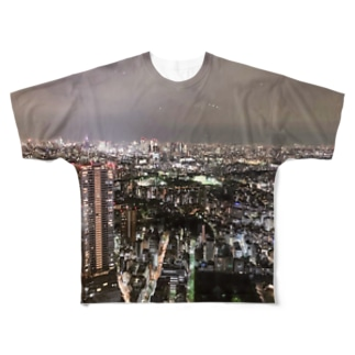 Night view Full graphic T-shirts