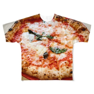 pizza Full graphic T-shirts