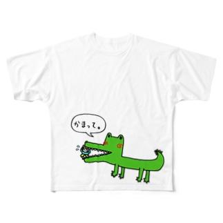 かまってくん Full graphic T-shirts