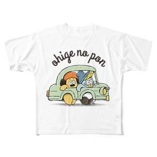 ドライブ Full graphic T-shirts