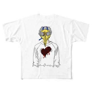 トクメイ社会 Full graphic T-shirts