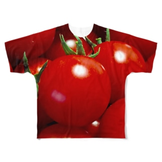 トマトちゃん Full graphic T-shirts