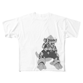 M=らくがき-かいじゅう‐DA Full graphic T-shirts