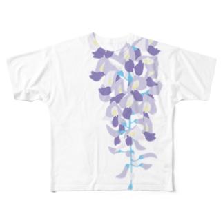 野田藤 Full graphic T-shirts