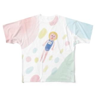 1年生の思い出 Full graphic T-shirts