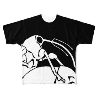 ゾウムシの仲間 Full graphic T-shirts