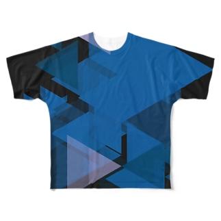 深海三角形 Full graphic T-shirts