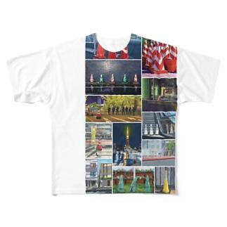#conescape オールスター Full graphic T-shirts