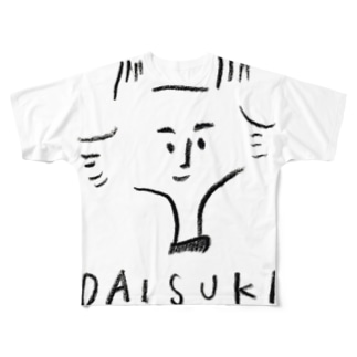 DAISUKI Full graphic T-shirts