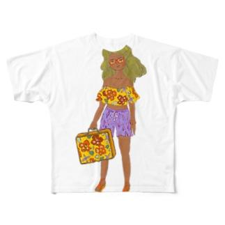 エンドレスサマー フィクション02 Full graphic T-shirts