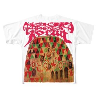 田代太田古墳(石室装飾) Full graphic T-shirts