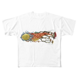 根魚 Full graphic T-shirts