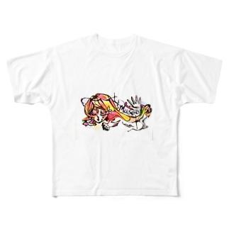 ミュゼ Full graphic T-shirts