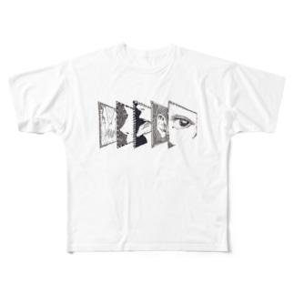 五感 Full graphic T-shirts