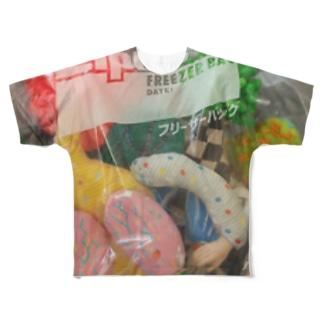 密閉! Full graphic T-shirts