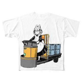 ターレーTシャツ Full graphic T-shirts