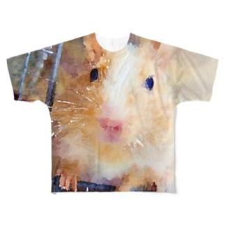 きなこ Full graphic T-shirts