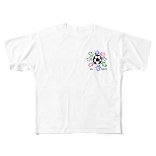 いせしまおくん番外編 Full graphic T-shirts