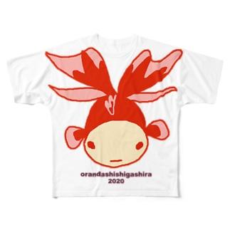 きんぎょ Full graphic T-shirts