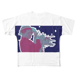 田辺の米はわしが作っとくけ Full graphic T-shirts
