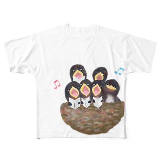 ♬コーラス♬ Full graphic T-shirts