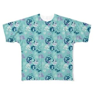 owen pattern Full graphic T-shirts