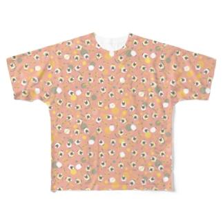 natarie pattern Full graphic T-shirts