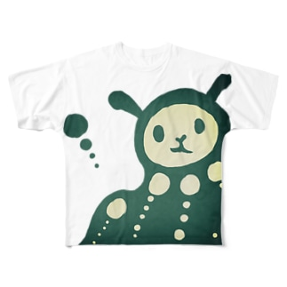 とろりん Full graphic T-shirts