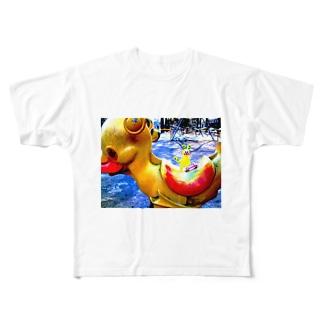 negiさん。 Full graphic T-shirts