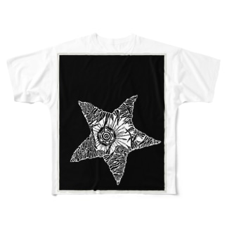 ヒトデシリーズ Full graphic T-shirts