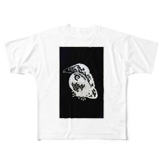 ベイビーヤタガラスシリーズ Full graphic T-shirts