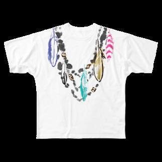 FJI-KAORUのオシャレにおめかし♪ Full graphic T-shirts