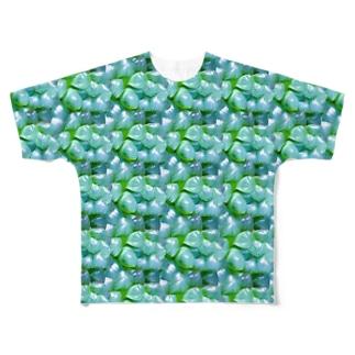 ただのオブツーサ Full graphic T-shirts