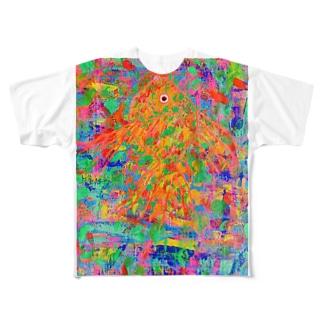 キンギョ. Full graphic T-shirts