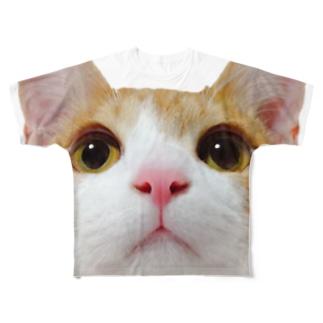 アイプチ猫みたらしカラー -壱- Full graphic T-shirts