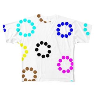 10人10色 Full graphic T-shirts